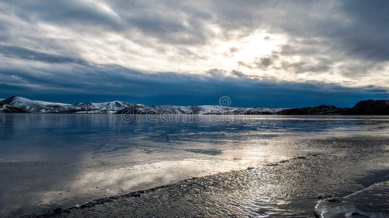 Kleifarvatn images libres de droits