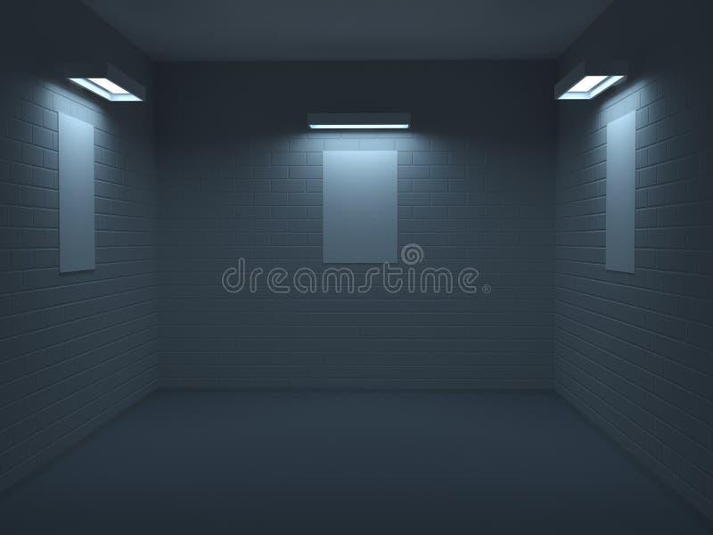 Klein album vector illustratie
