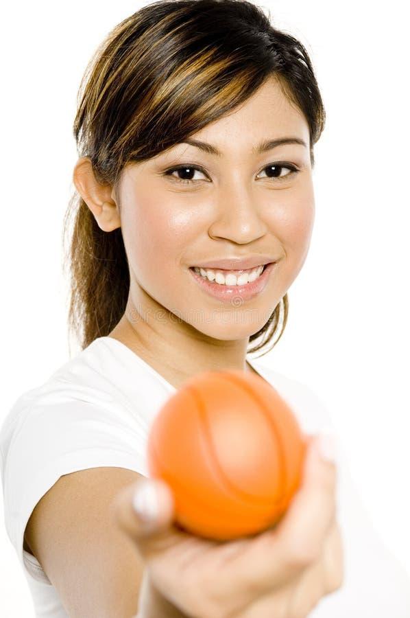 Klein Basketbal stock fotografie