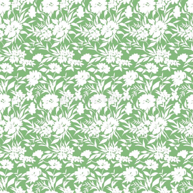 Klein bloemenpatroon 030 royalty-vrije illustratie