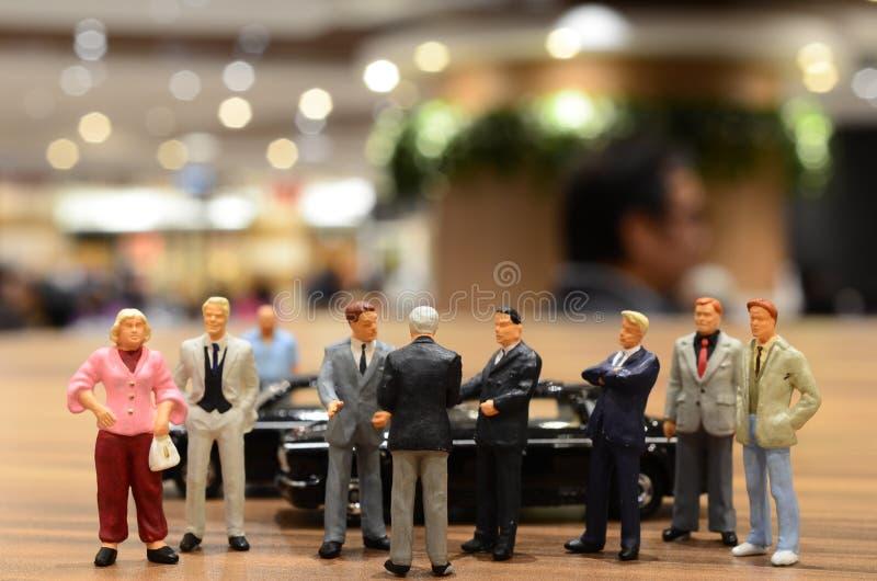 Klein cijfer van zaken royalty-vrije stock fotografie