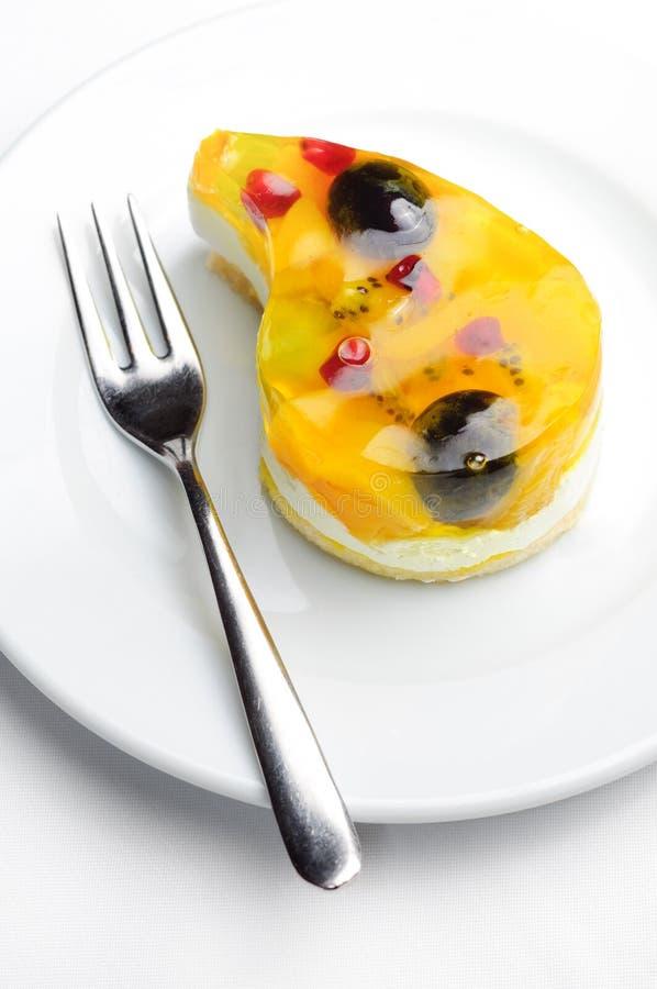 Klein fruitcake royalty-vrije stock foto's