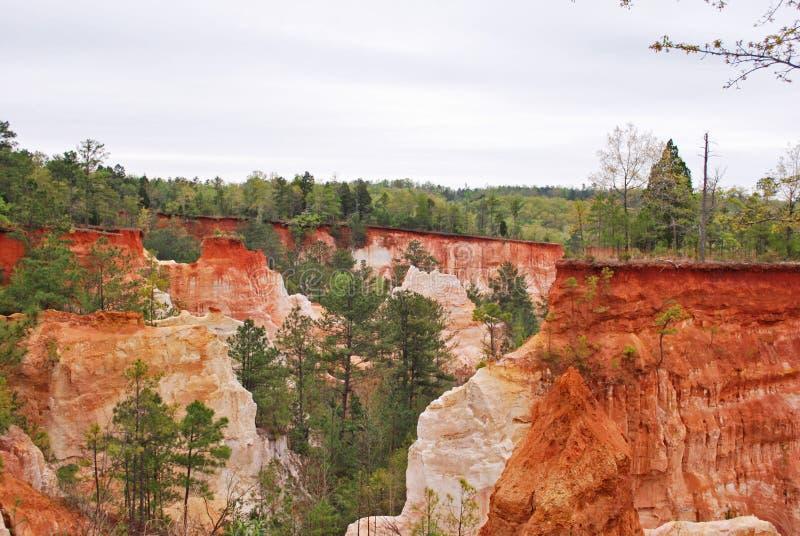 Klein Grand Canyon royalty-vrije stock afbeeldingen