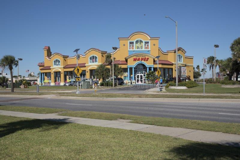 Klein het winkelen gebied bij Pensacola-Strand Florida de V.S. stock fotografie