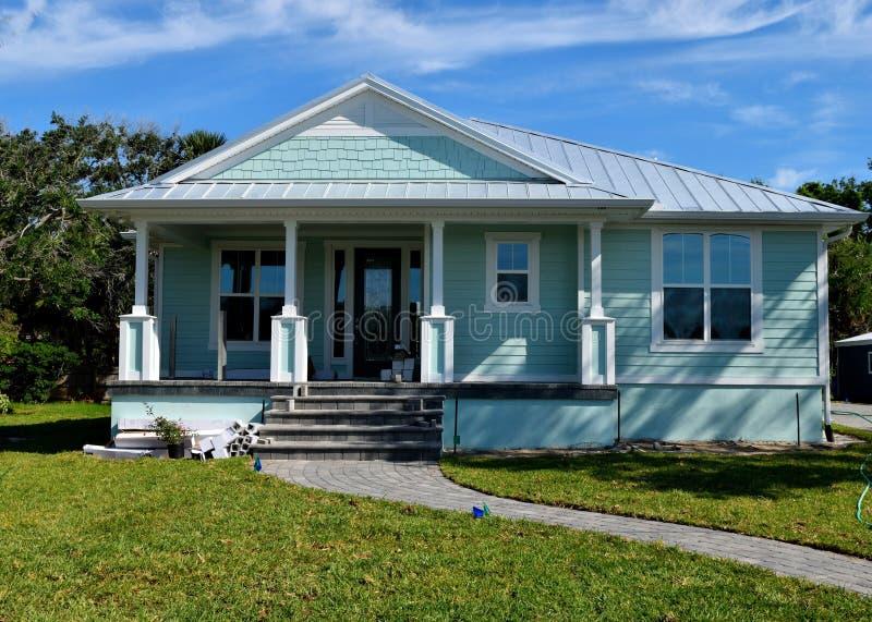 Klein huis in Florida stock foto