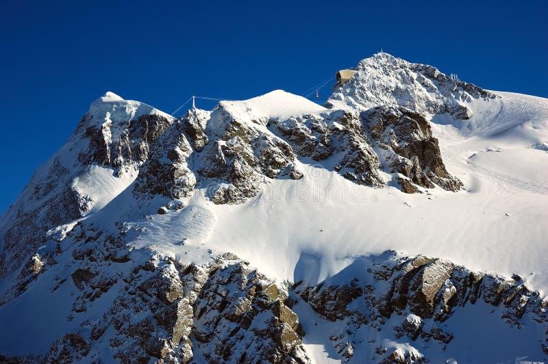 Klein Matterhorn stockfotos