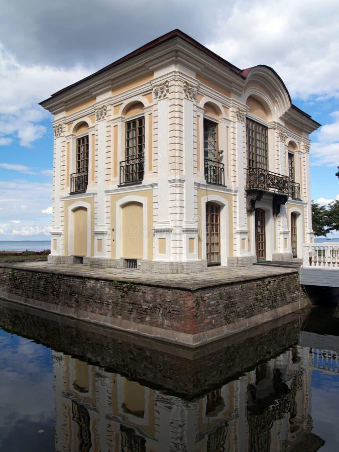 Klein paleis royalty-vrije stock afbeelding
