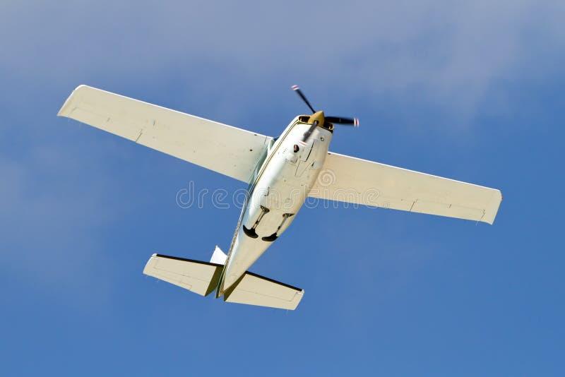 Klein toeristenvliegtuig royalty-vrije stock foto's