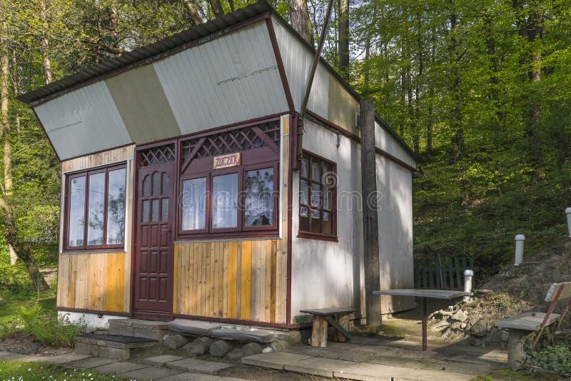 Klein Vakantiehuis stock fotografie