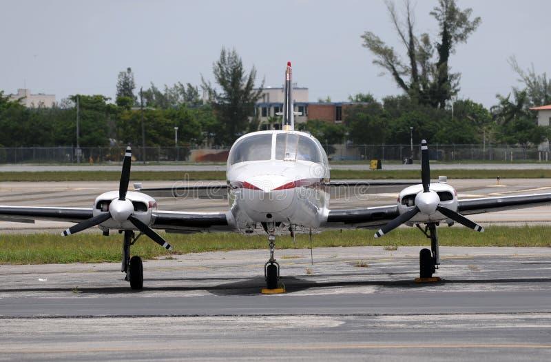 Klein vliegtuig stock fotografie