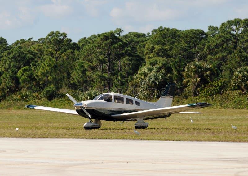 Klein vliegtuig royalty-vrije stock afbeeldingen