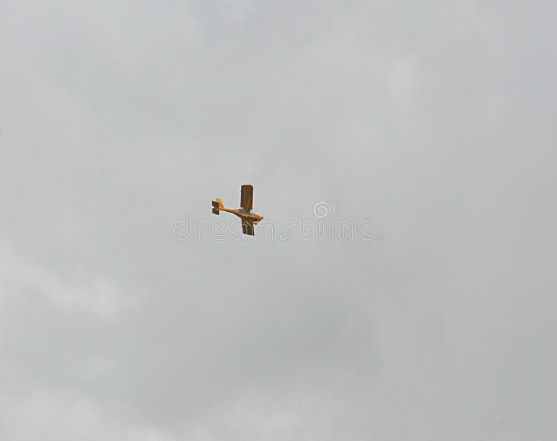 Klein vliegtuig royalty-vrije stock fotografie