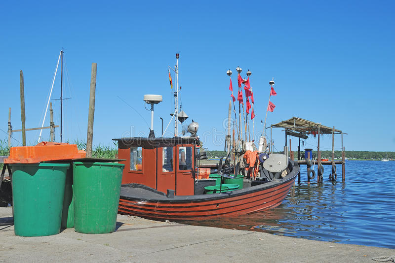 Klein Zicker, Ruegen island, Baltic Sea, Germany stock image