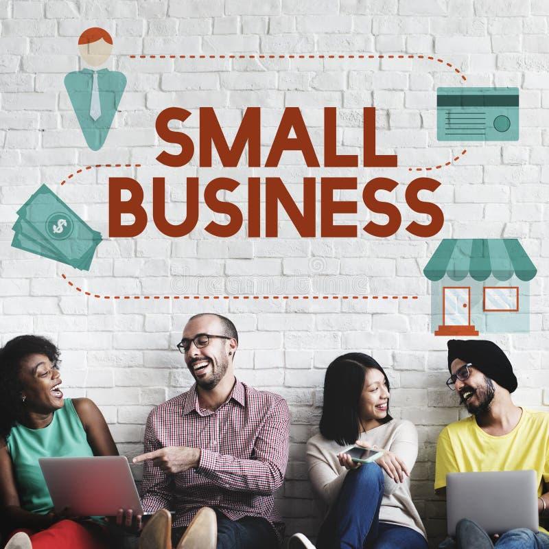 Kleinbetrieb-Marktnische-Produkt-Besitz-Unternehmer Conc lizenzfreie stockfotos