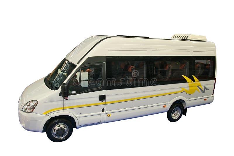 Kleinbus stockbild