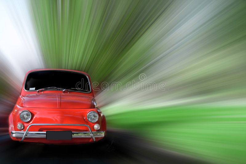 Kleine Auto royalty-vrije stock fotografie