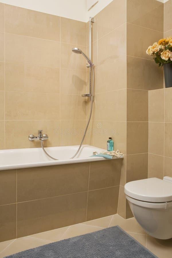 Kleine badkamers royalty-vrije stock fotografie