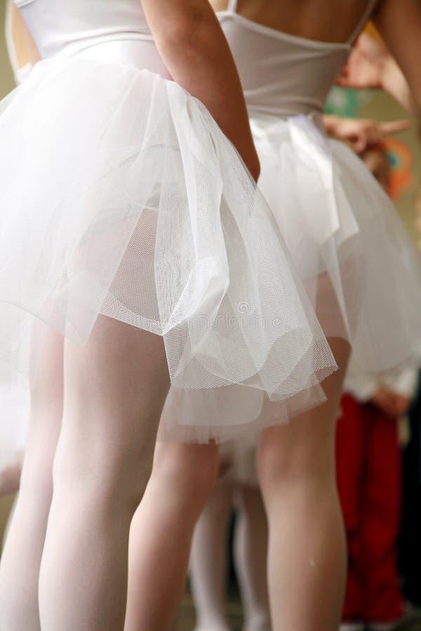 Kleine ballerina's stock fotografie
