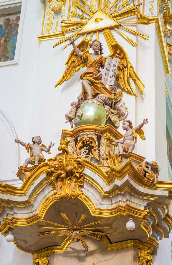 Kleine basiliek van St Francis Xavier stock fotografie