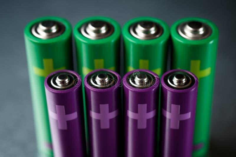 Kleine Batterieansicht stockfotos