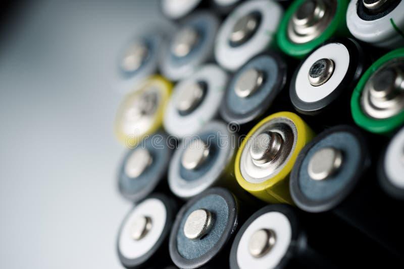 Kleine Batterieansicht lizenzfreies stockbild