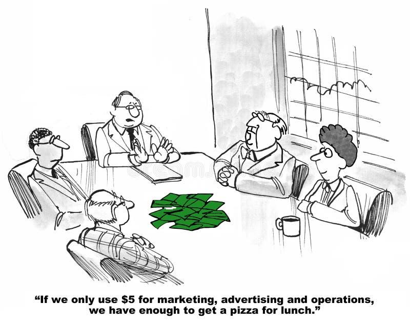 Kleine Begroting stock illustratie