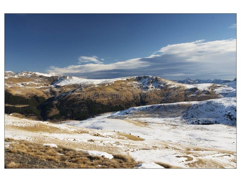 Kleine bergen royalty-vrije stock afbeelding