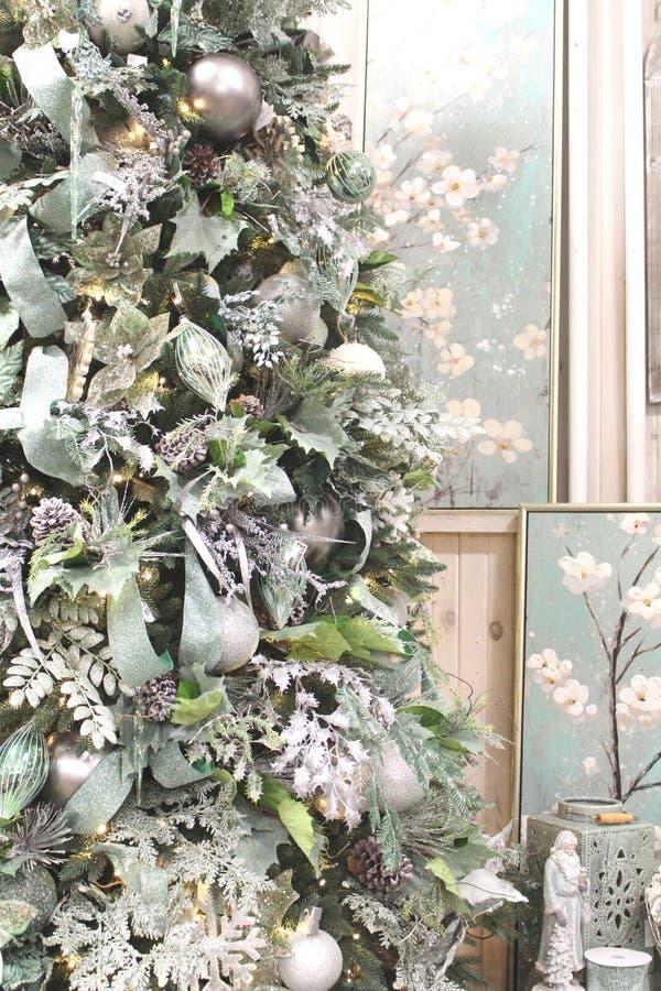 Kleine bir van Kerstmis royalty-vrije stock foto's