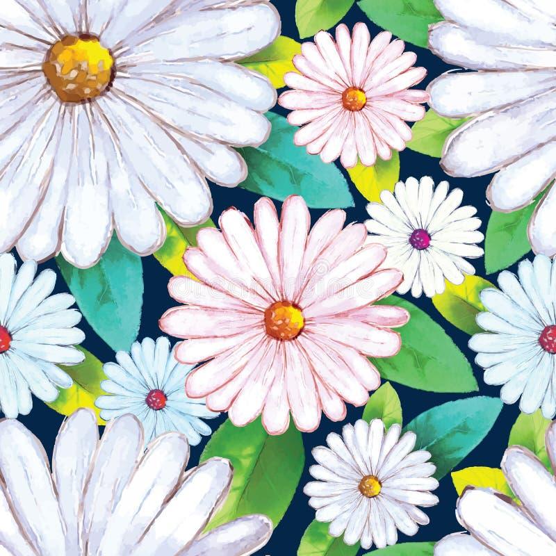 Kleine Blumensträuße mit Bögen stock abbildung