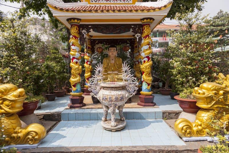 Kleine Boeddhistische tempel royalty-vrije stock afbeelding