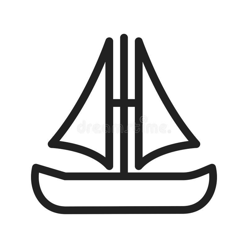 Kleine boot stock illustratie