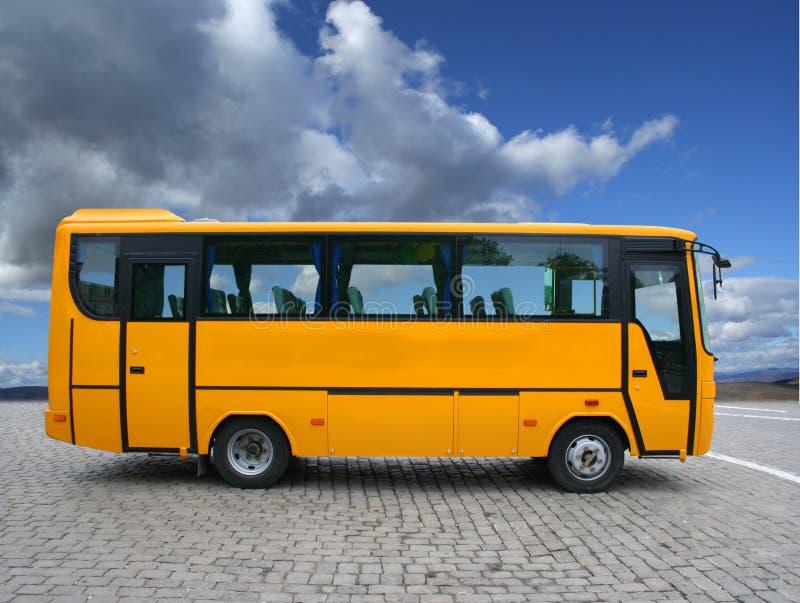 Kleine bus royalty-vrije stock foto