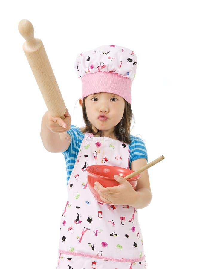 Kleine Chef-koks stock afbeeldingen