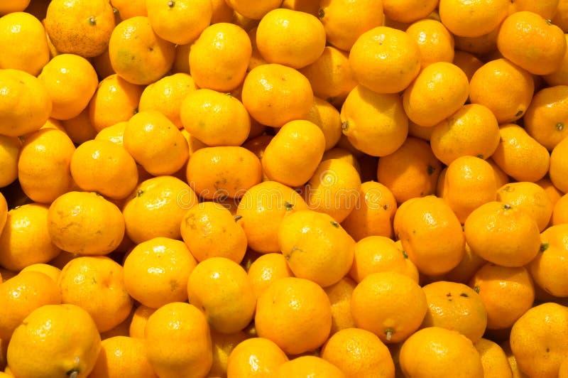 Kleine Chinese oranje textuur als achtergrond stock foto