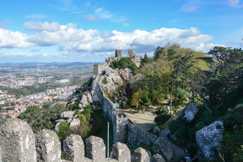 Kleine Chinesische Mauer in Portugal stockfotografie