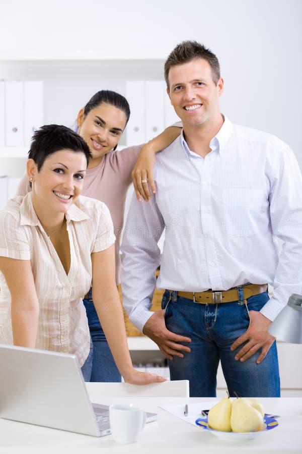 Kleine commercieel team stock foto