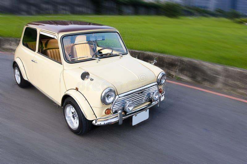 Kleine compacte auto stock foto's