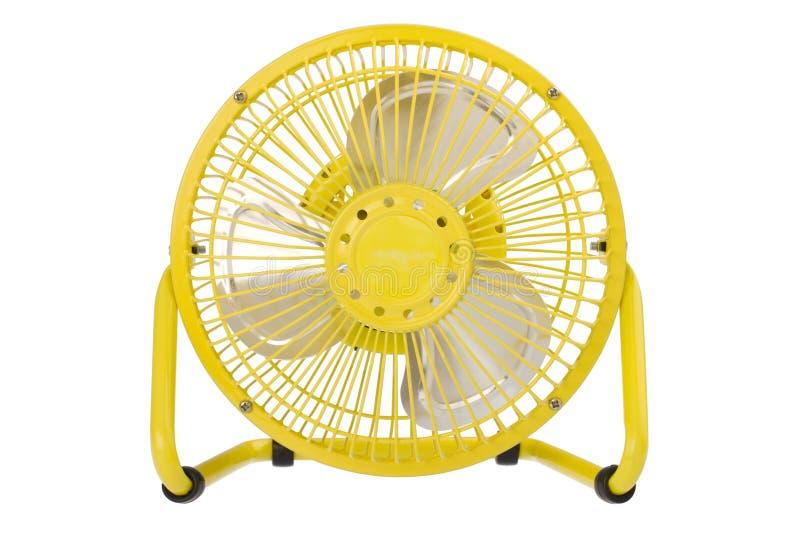 Kleine elektrische ventilator royalty-vrije stock afbeelding