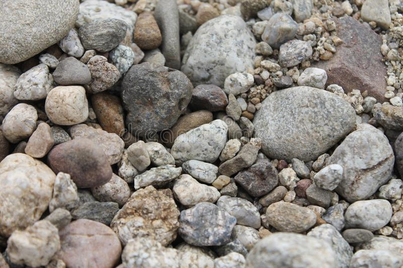 Kleine en Grote Stenen royalty-vrije stock fotografie