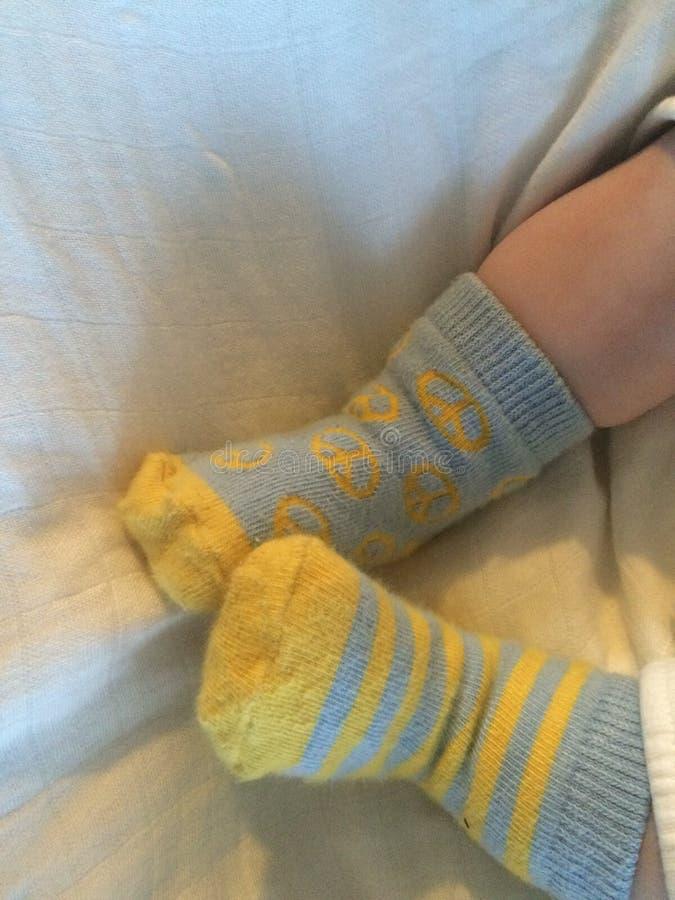 Kleine Füße der Babyfüße sind so ordentlich lizenzfreies stockfoto