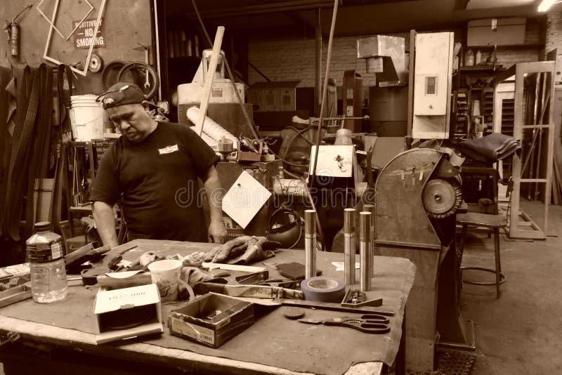 Kleine fabriek in NYC royalty-vrije stock fotografie