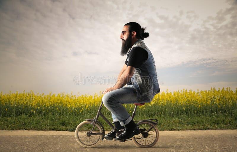 Kleine fiets royalty-vrije stock foto
