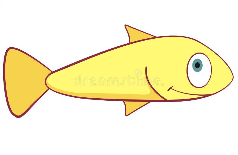 Kleine Fische lizenzfreie abbildung