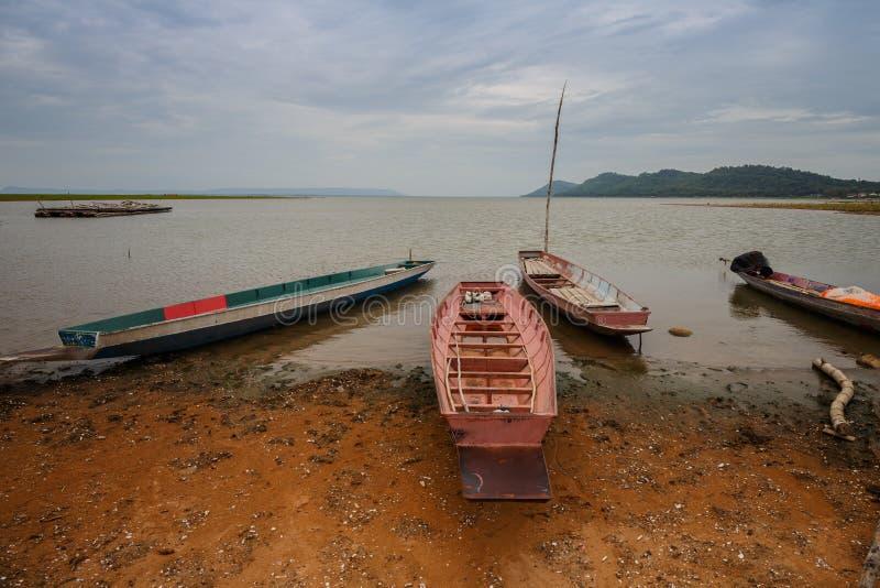 Kleine Fischerboote lizenzfreie stockbilder