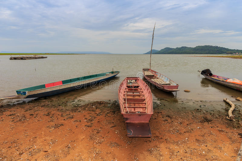 Kleine Fischerboote lizenzfreies stockbild