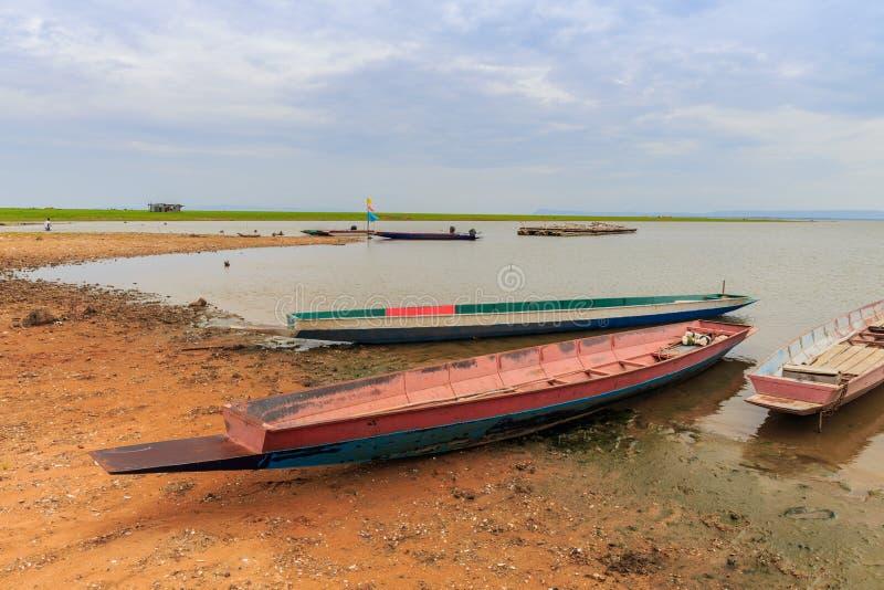 Kleine Fischerboote stockfoto