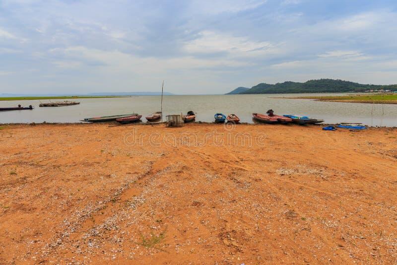 Kleine Fischerboote lizenzfreie stockfotografie