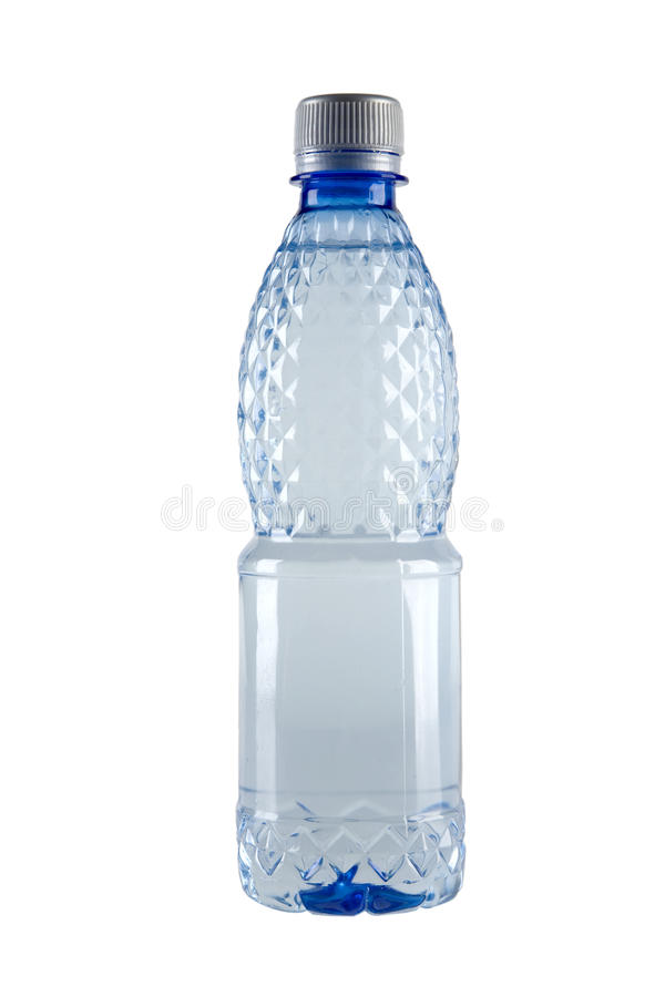 Kleine Flasche Wasser stockfotos
