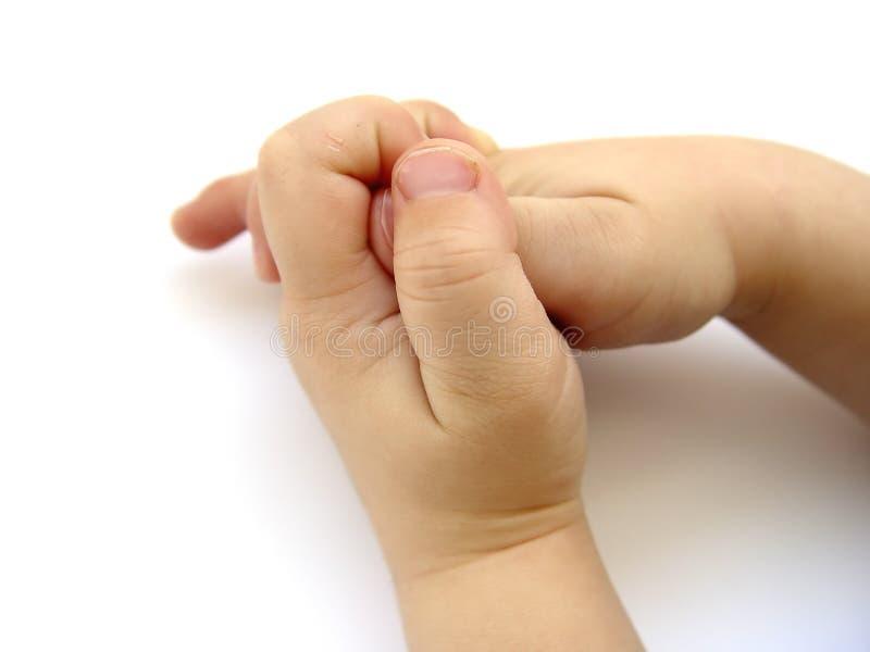 Kleine Handen II van Jongens royalty-vrije stock afbeeldingen