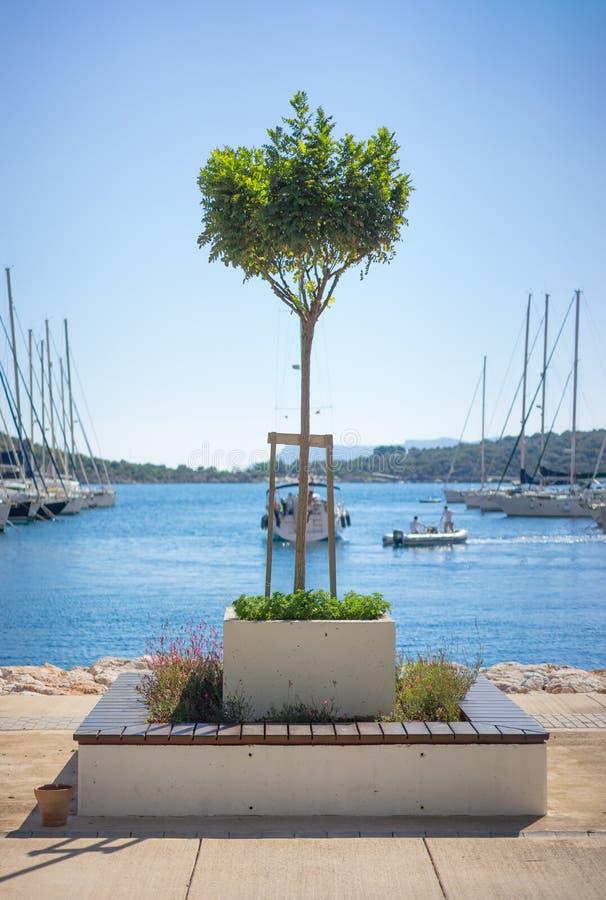 Kleine haven Kas, Turkije stock afbeeldingen